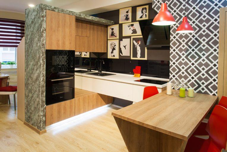Пример изготовленной кухни 1